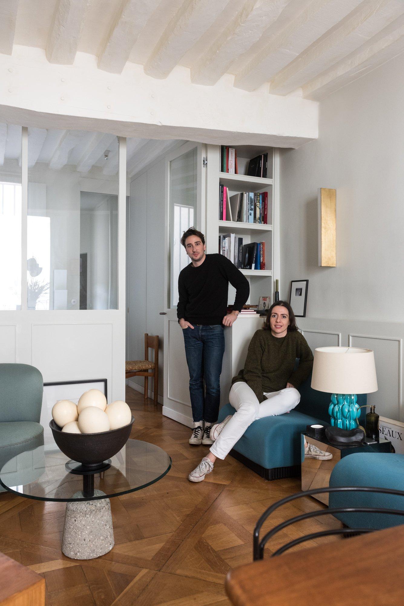Portrait Fondateurs Charlotte Albert et Alexis Lamesta Necchi Architecture