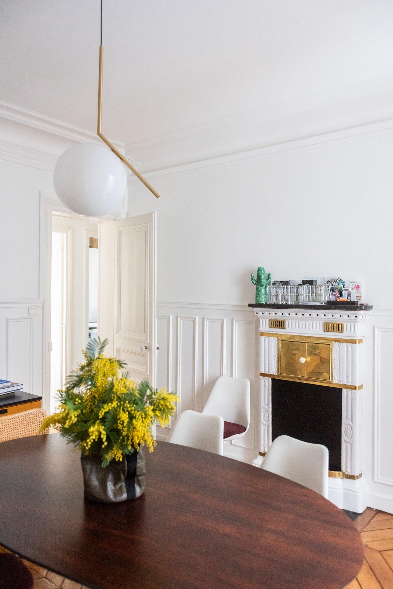 Salle à manger Aline Belda Appartement Paris