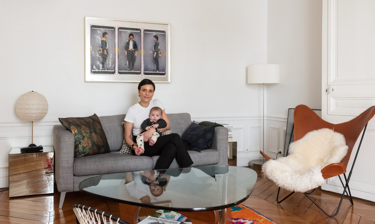 Salon Portrait Aline Belda Appartement Paris