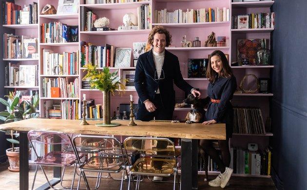 Laurent Laporte et Marie Christoforou