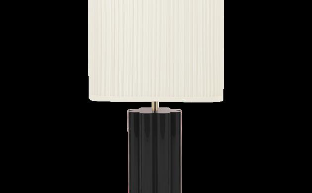 Lampe à poser Gioia noire