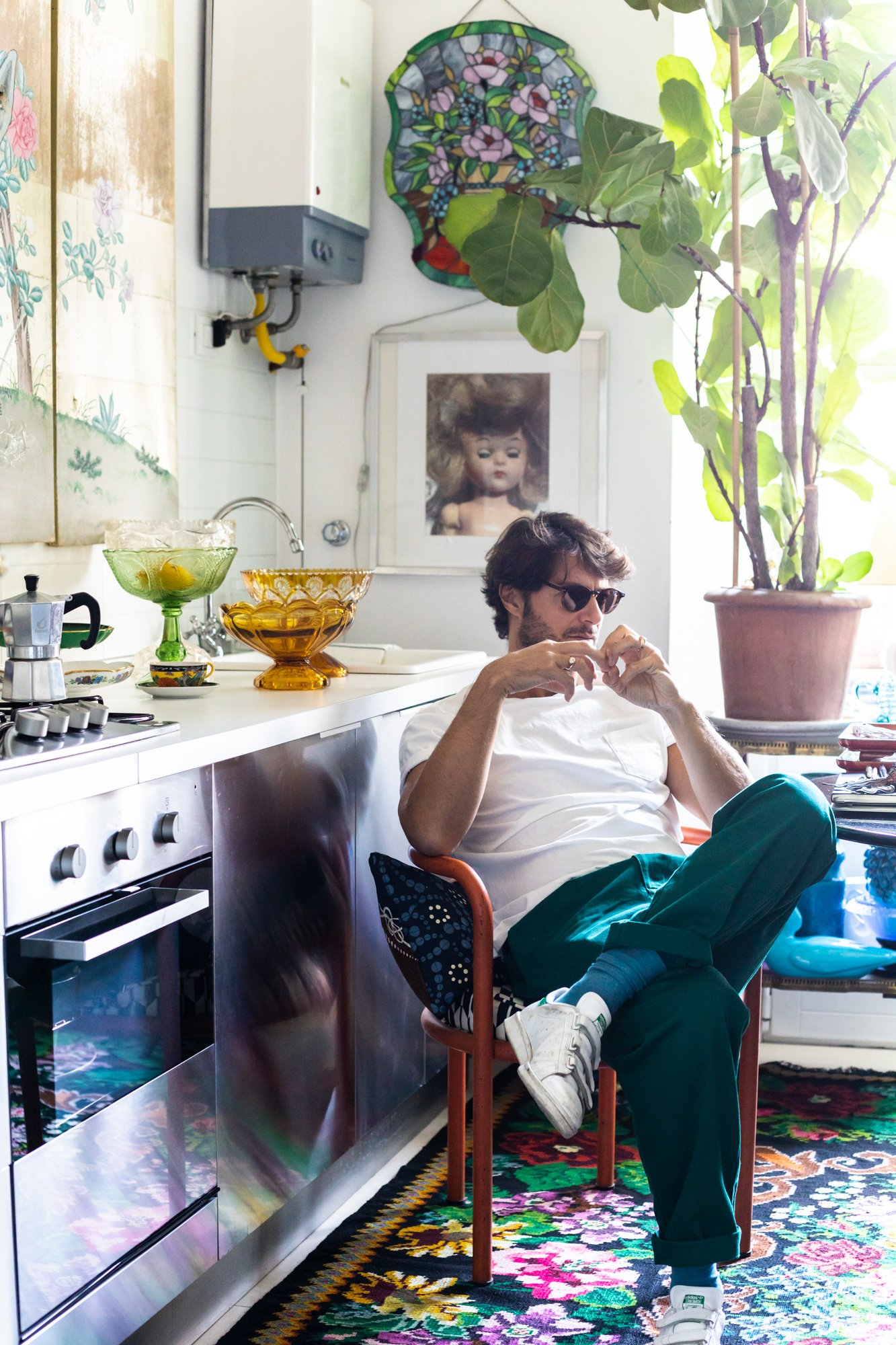 Portrait Directeur de création Bruno Laurenzano Italie