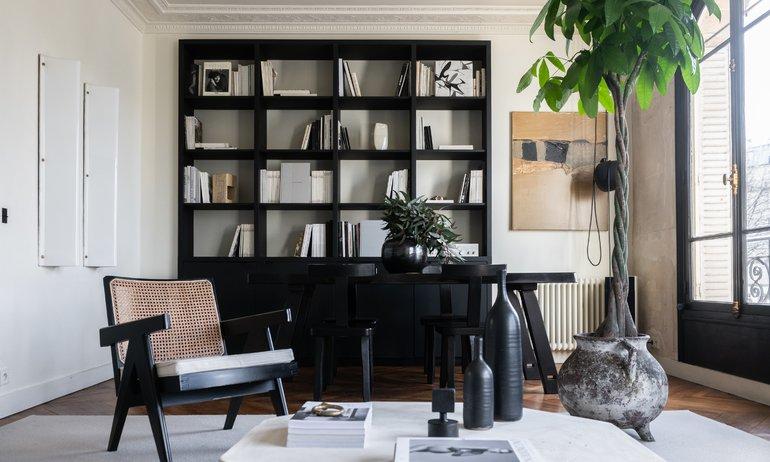 Salon Appartement Paris Fondateur Cliché Jean-Baptiste Martin Anne Sasha 5 mois
