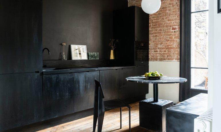 Cuisine Appartement Paris Fondateur Cliché Jean-Baptiste Martin Anne Sasha 5 mois