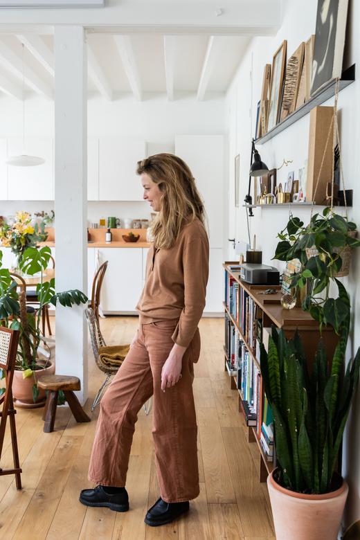 Portrait Architecte Paula Alvarez de Toledo Appartement Paris 18ème arrondissement
