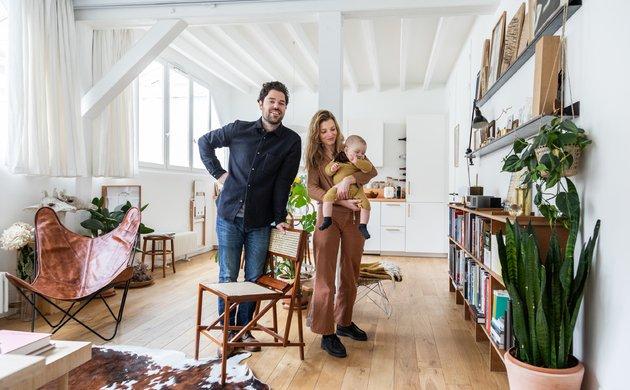 Paula Alvarez de Toledo et Antoine Daniel, <br> Gaston 10 mois