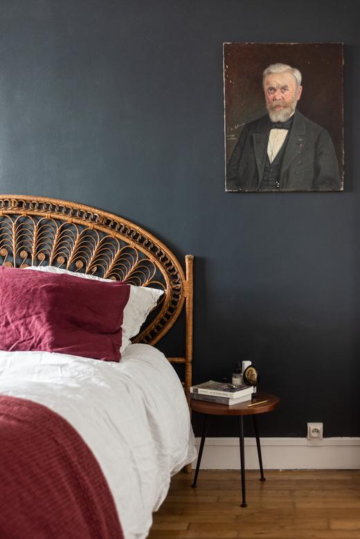 Chambre Appartement Paris Charlotte Cadé et Maxime Brousse Fondateurs Selency