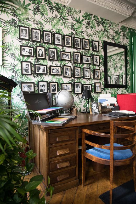 Appartement Montmartre Paris Bureau Angelo Sensini