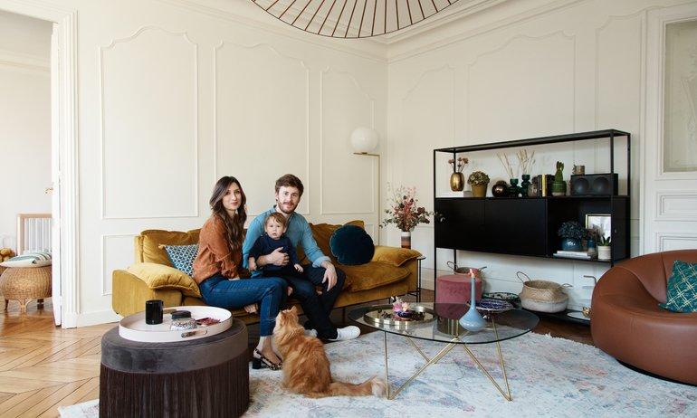 Darya and Grégoire Kopp, <br> Cyrus 1 year old