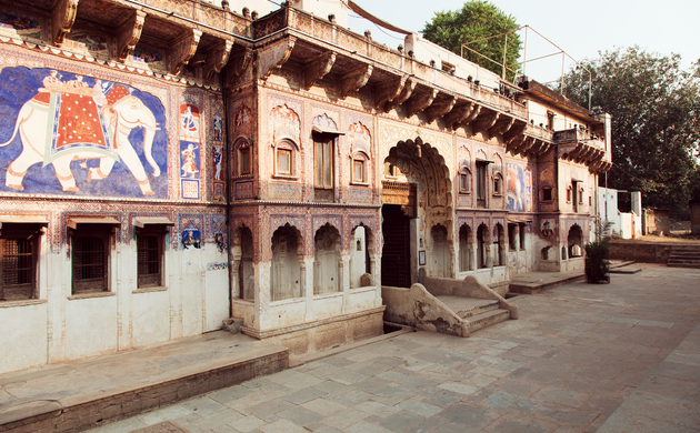 Le Prince Haveli, a Journey of <br>Initiation to Shekhawati