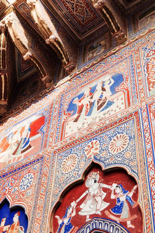 Extérieur Haveli Le Prince Rajasthan Shekhawati