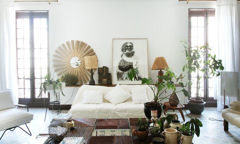 Salon Appartement Marseille Fondatrice Honoré Décoration Annick Lestrohant