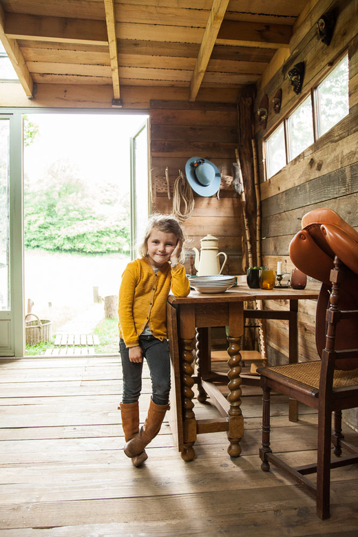 Arnaud Doin and Sarah de Vilmorin,<br>Cosima 5, Edgar 3 years old, Rosalie 2 months
