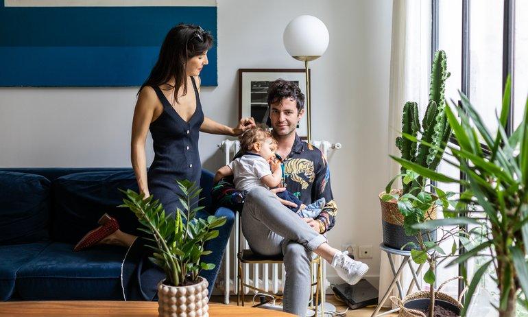 Chloé Siegmann et Alexandre Grynszpan, <br> Côme 1 an