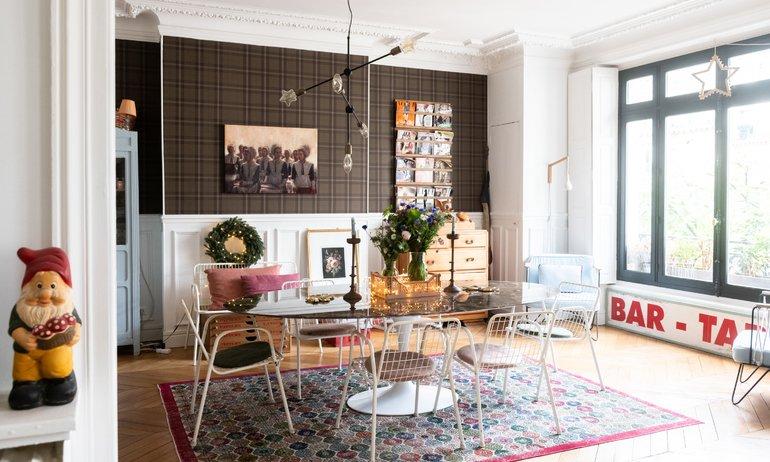 Constance Au Pays de Bambi Instagram Salon Appartement Paris