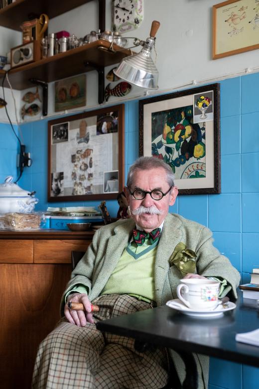 Appartement Portrait Italo Manca Milan Italie