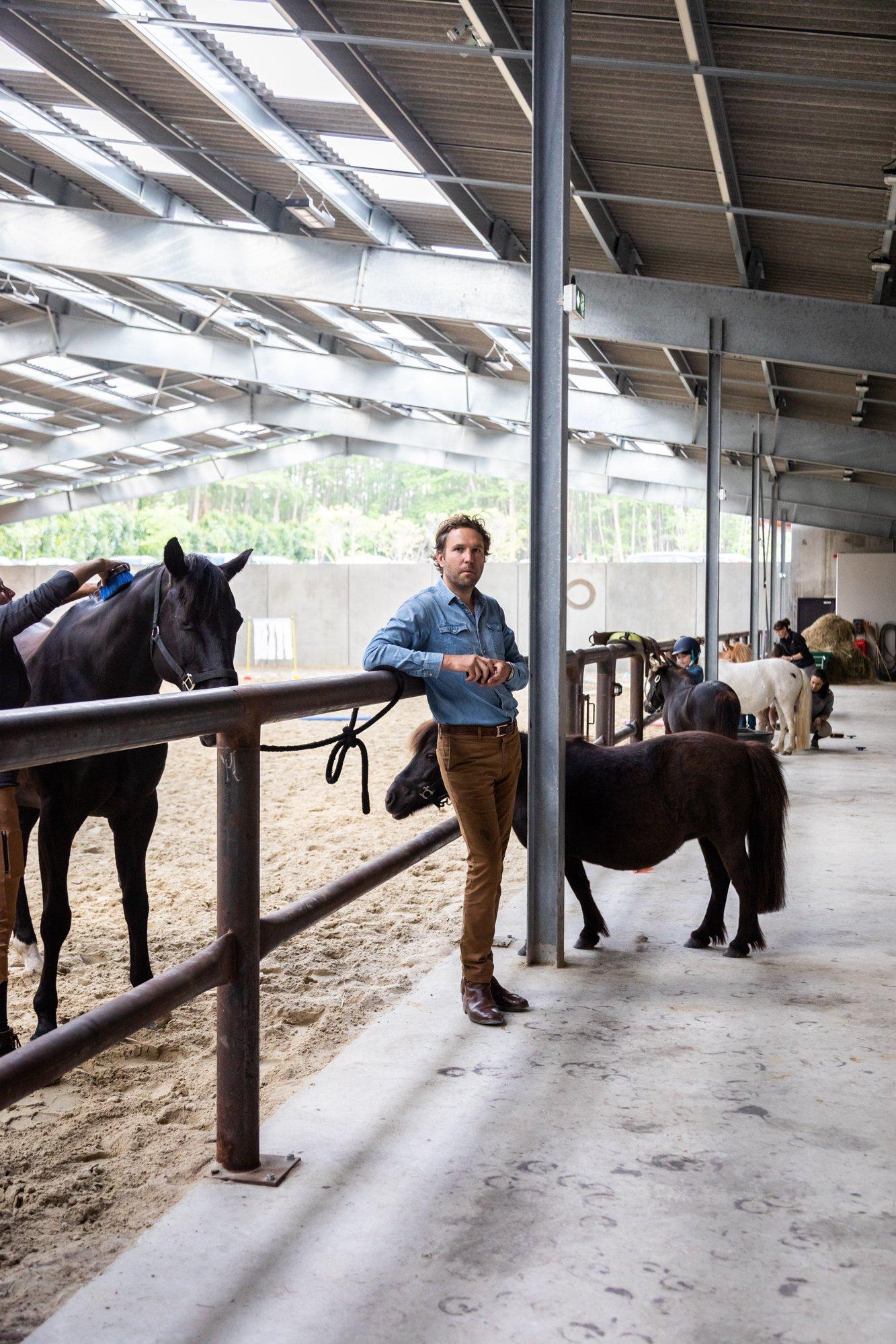Rambouillet Le Barn En famille Portrait Édouard Daehn co-fondateur