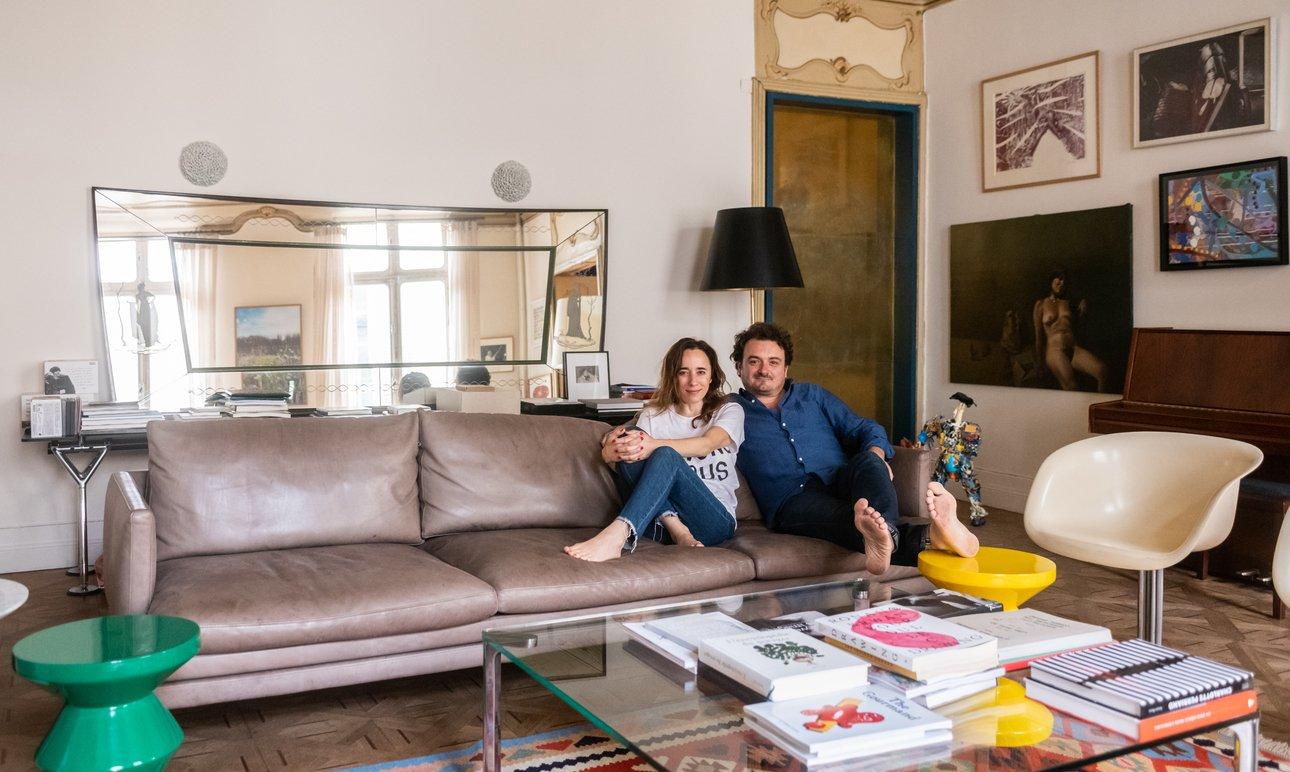 Armand Arnal and Céline Pujol