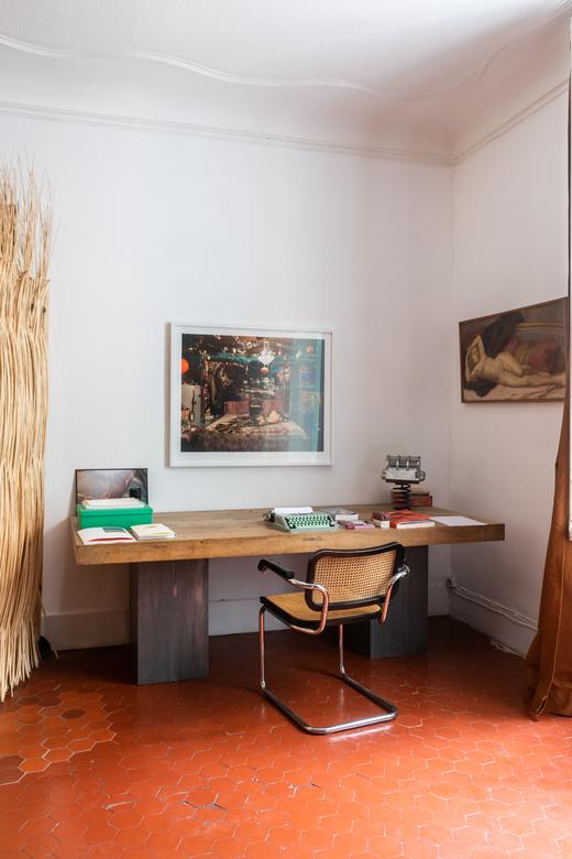 Bureau Appartement Arles Chef Armand Arnal et Artiste Céline Pujol