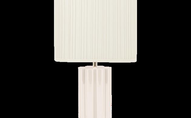 Lampe à poser Gioia blanc crème