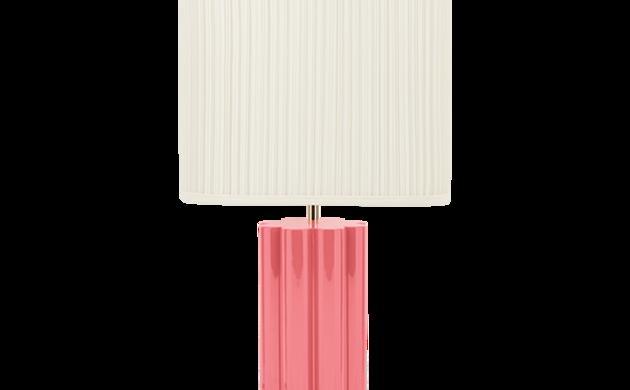 Lampe à poser Gioia rose