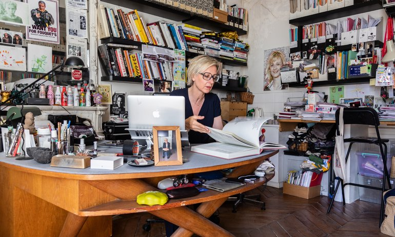 Sylvie Adigard, a Morning Person