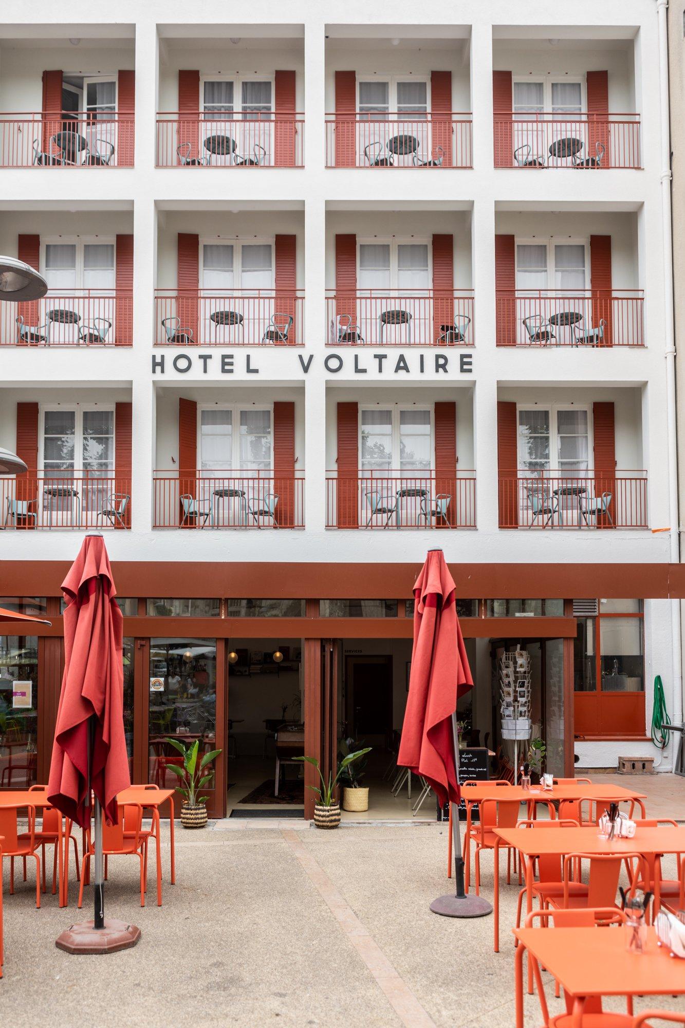 Le nouveau souffle de <br> l'hôtel Voltaire