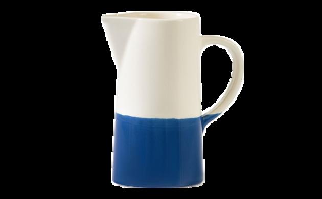 Carafe bicolore céramique