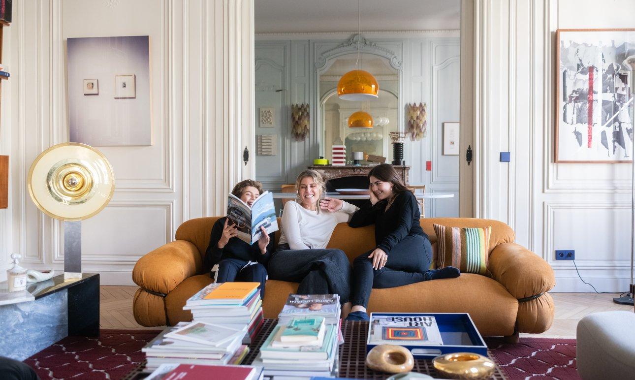 Architecte Interieur Paris 18 sandra benhamou, mia 18 and nathaniel 12 years old - the