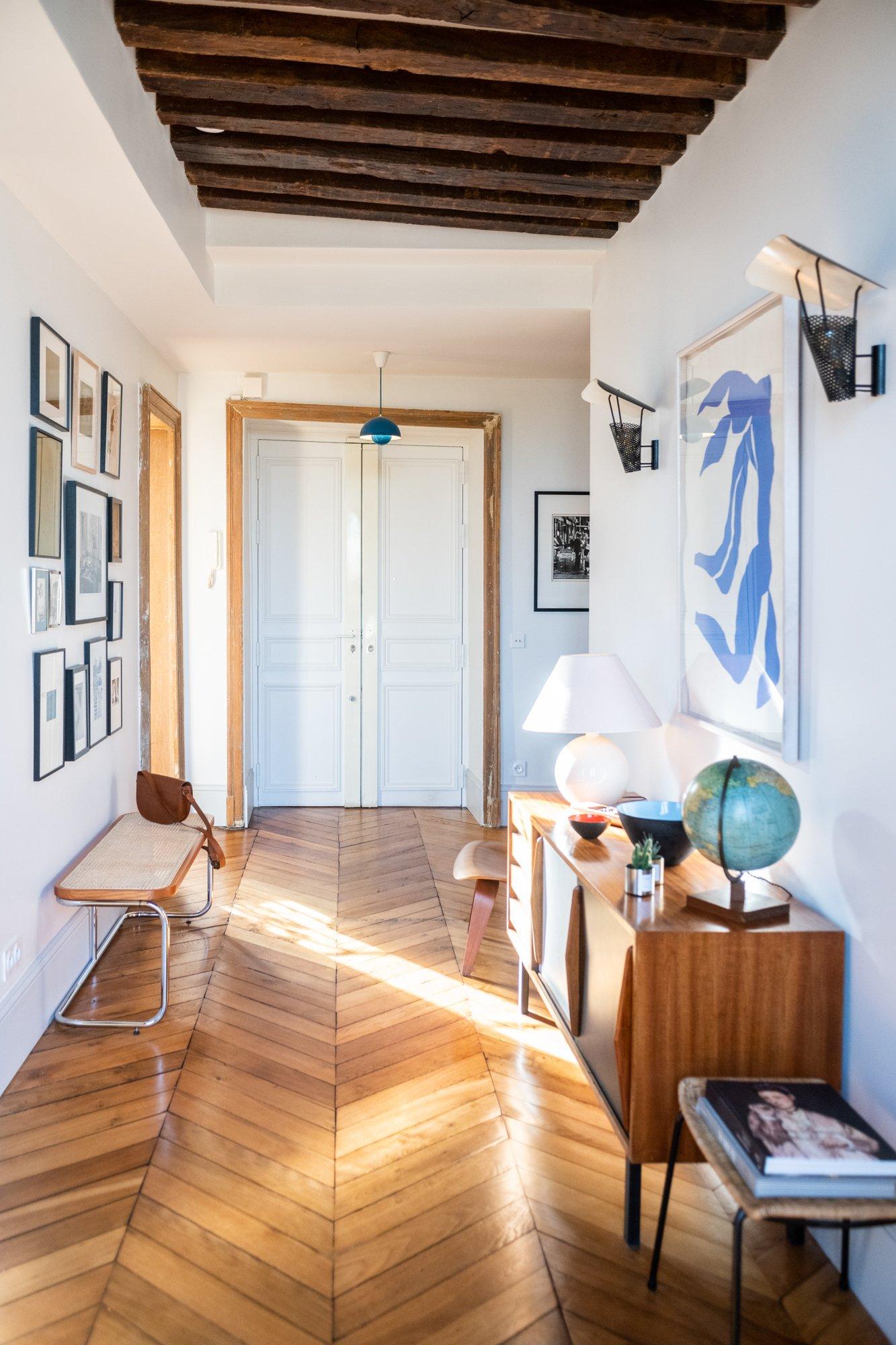 Entrée Appartement Famille Co-fondatrice Wilo & Grove Fanny Saulay et Thomas Seydoux