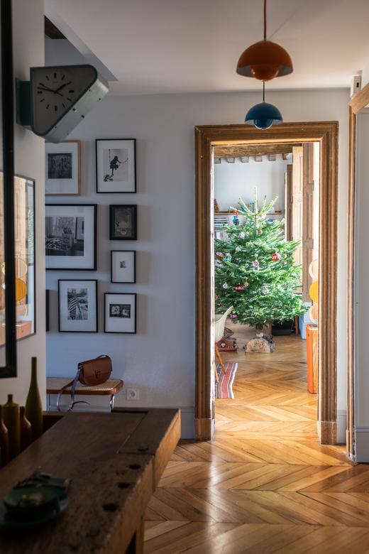 Salon Entrée Appartement Famille Co-fondatrice Wilo & Grove Fanny Saulay et Thomas Seydoux