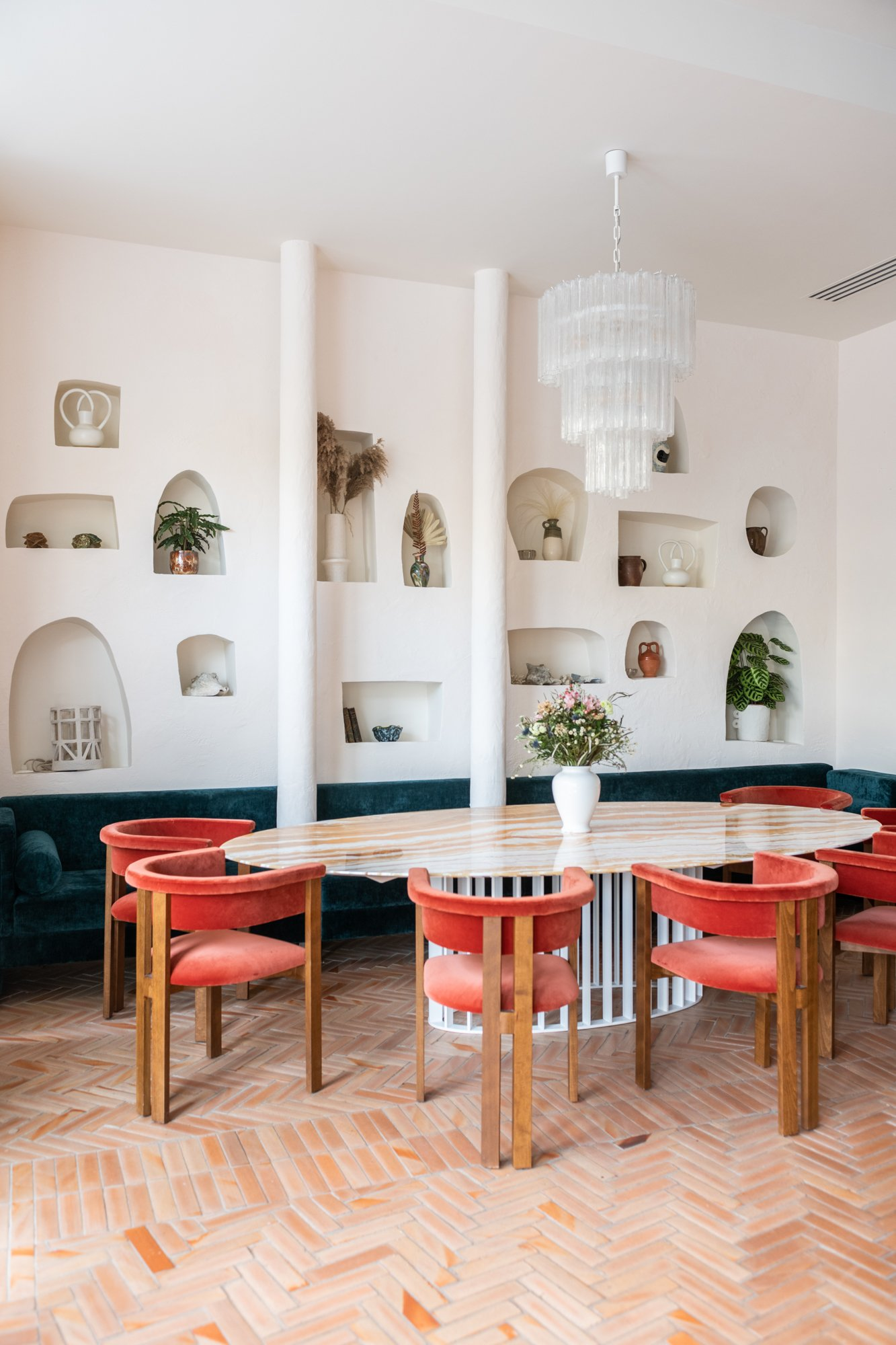 Salle La Riviera Restaurant Paris Friedmann & Versace