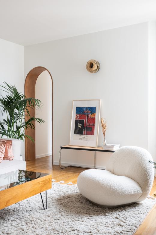 Appartement Paris Salon Cofondatrice Balzac Paris Chrysoline de Gastines et Victorien