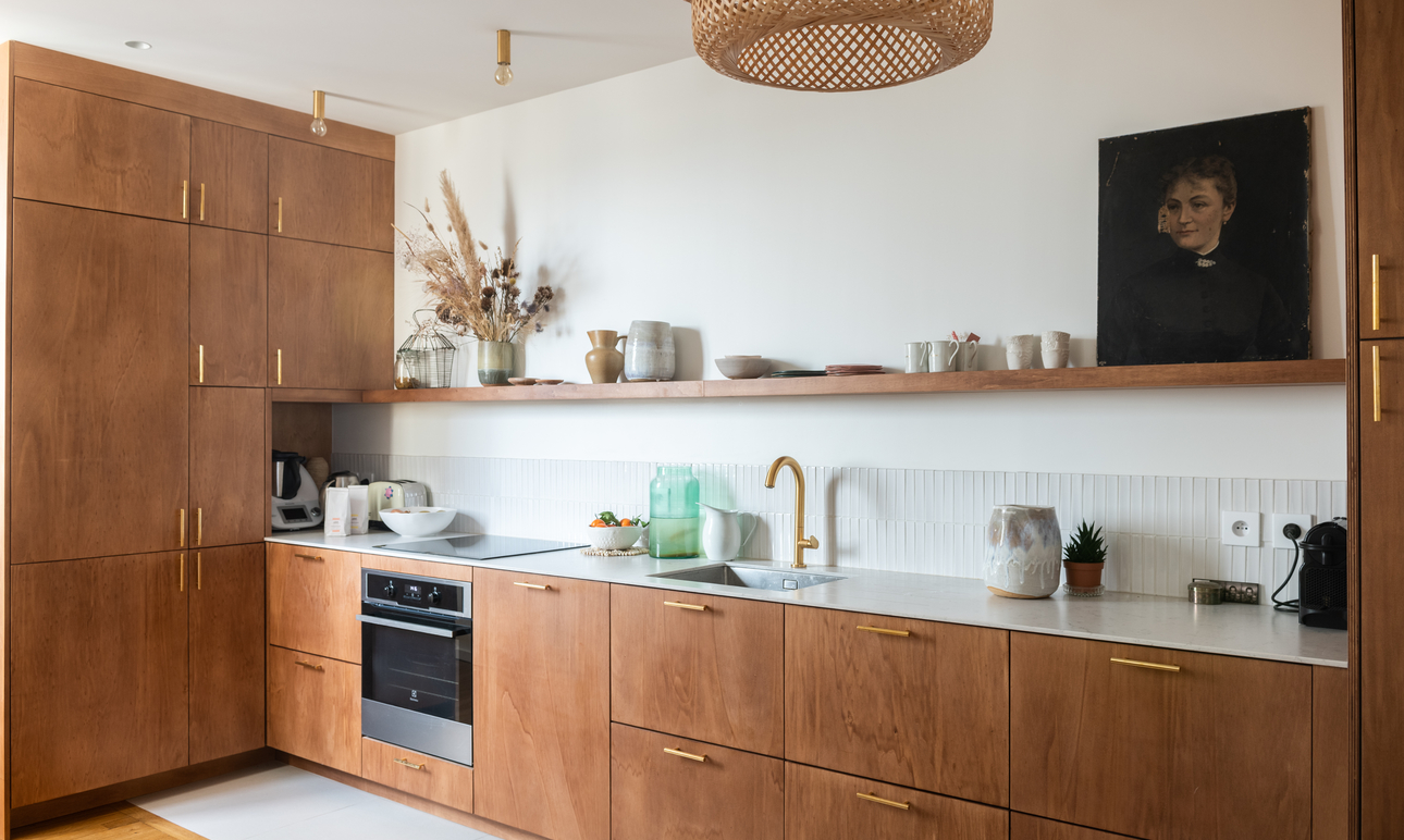 Appartement Paris Cuisine Cofondatrice Balzac Paris Chrysoline de Gastines et Victorien