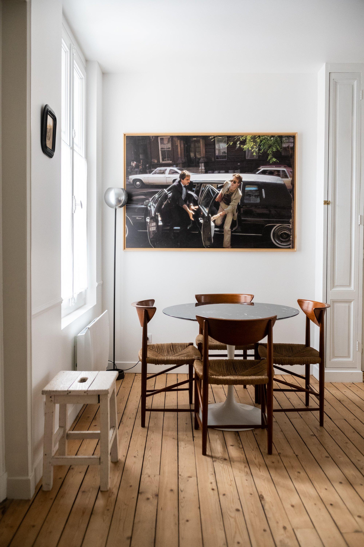 Salon Salle à manger Guesthouse 1 Les Pénates Reims Annabelle Brun et Brice Bérard