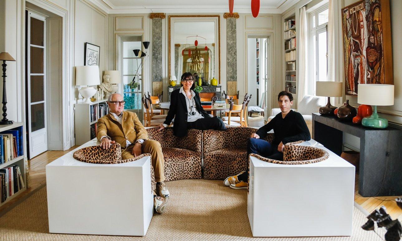 Sylvie de Chirée and Philippe Rapin, <br>Virgile Dumont
