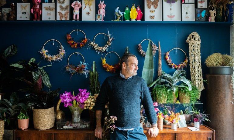 Thierry Féret, bombes florales