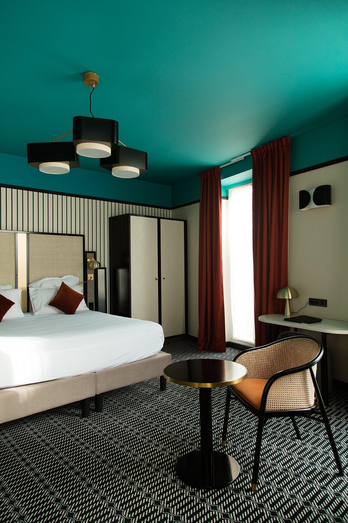 Chambre Hôtel Roosevelt Fauteuil Cavallo Nice Laurent Maugoust