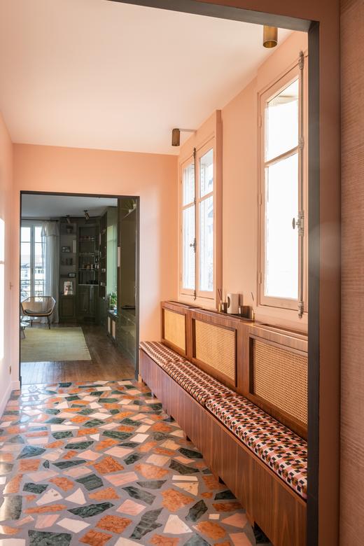 Entrée Appartement Neuilly-sur-Seine Ornella Abouaf