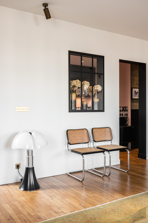 Salon Appartement Neuilly-sur-Seine Ornella Abouaf