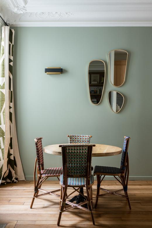 Salle à manger Architecte intérieur A&D Vanessa Faivre Appartement Paris