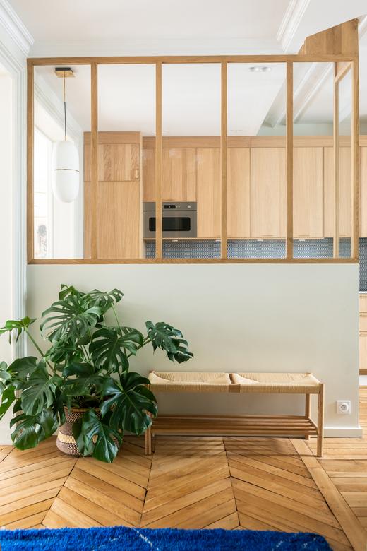 Cuisine Architecte intérieur A&D Vanessa Faivre Appartement Paris