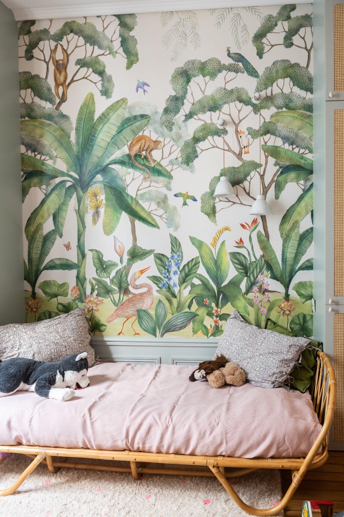 Chambre enfant Architecte intérieur A&D Vanessa Faivre Appartement Paris