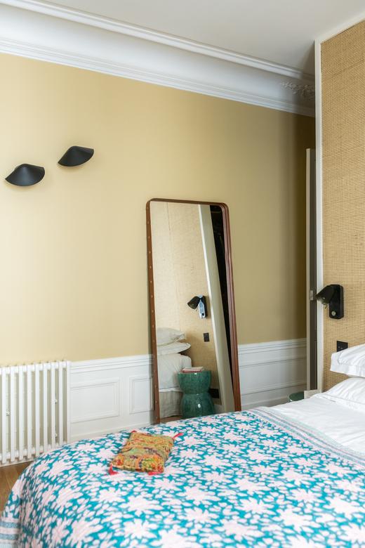 Chambre Architecte intérieur A&D Vanessa Faivre Appartement Paris