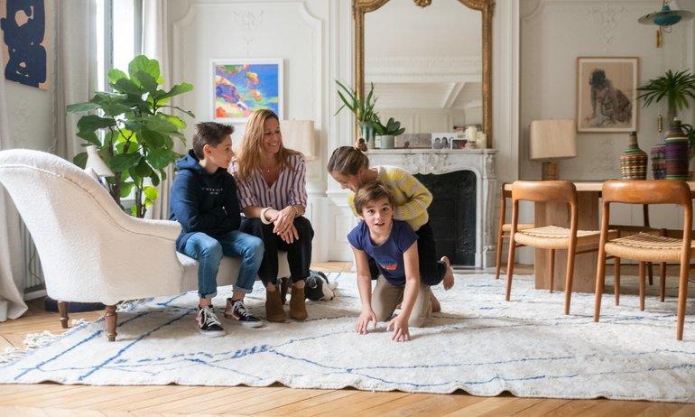 Vanessa Faivre et Marc Renaud, <br> Arthur 12, Romy 8, Gabriel 8 ans
