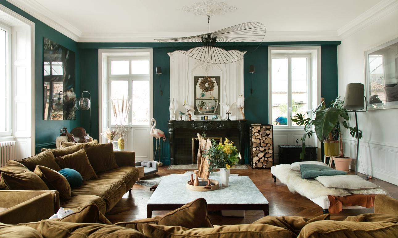 Les plus beaux intérieurs colorés<br> de The Socialite Family