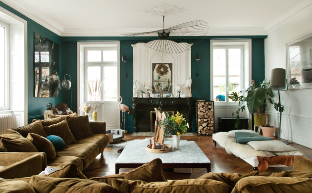 The Socialite Family's Most <br>Beautiful and Colourful Interiors