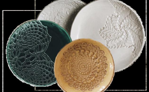 Assiettes en céramique VESSEL