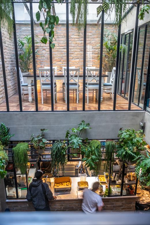Salle de restaurant Alexandre Rapoud Alexia Duchêne Dastha Underground