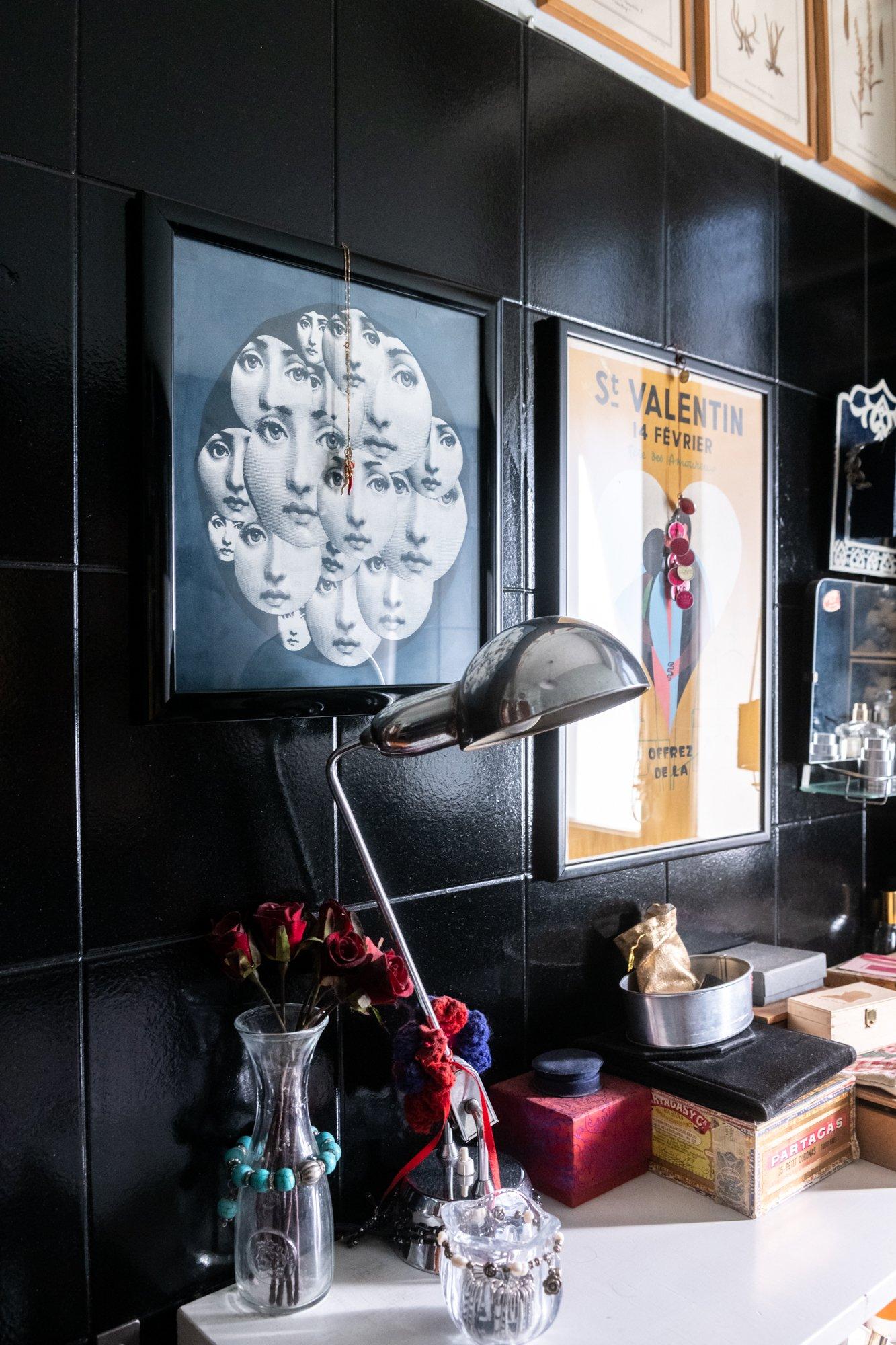 Salle de bain Appartement Italo Manca Milan Italie
